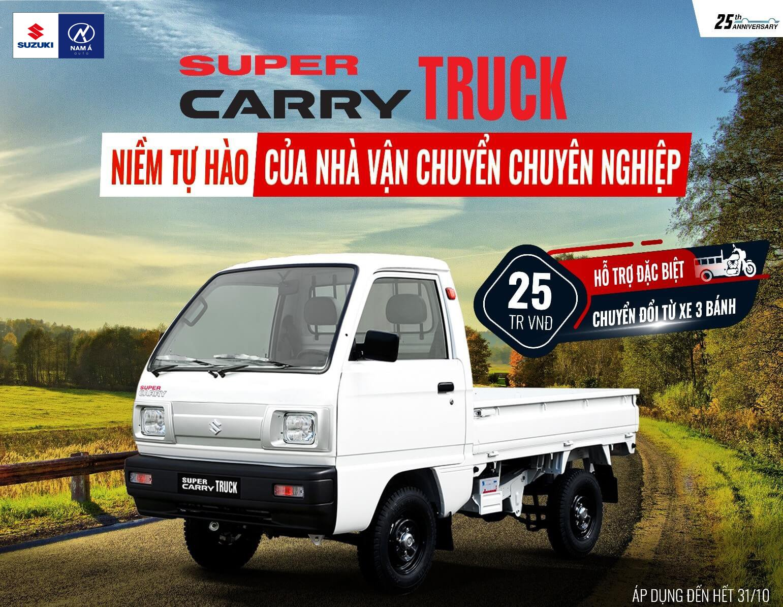 Xe Suzuki Cary Truck nhập khẩu 2020