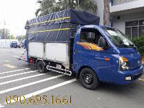 Bán xe tải HuynDai Porter H150 thùng kín 1.4 tấn, giao xe ngay