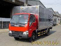 Bán Xe tải isuzu thùng 3m7/ 4m3 hỗ trợ vay cao, bỏ ít vốn