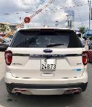 Bán Explorer 2016, xe Demo của hãng, màu trắng, xe đẹp, không lỗi