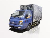 Xe tải Hyundai 1t49 thùng kín H150 giá ưu đãi