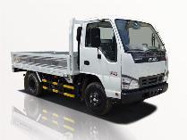 Xe tải isuzu 2t5 thùng lững qkr 230 chạy vào thành phố