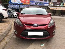 Cần bán xe Ford Fiesta 2012 số tự động màu đỏ chính chủ