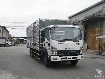 xe tải isuzu 6 tấn thùng kín frr 650