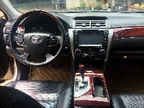 Nhà mình cần bán xe Toyota Camry 2.5Q đời 2013 số tự động màu vàng cát