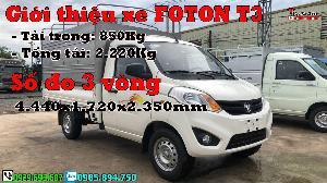 Thaco Khác sản xuất năm 2016 Số tay (số sàn) Xe tải động cơ Xăng