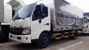 Giá xe tải Hino 5 tấn thùng kín - Mua xe tặng...