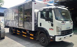 Giá xe tải isuzu 5.750kg Thùng 6m6 ô tô Phú...