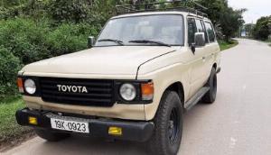 Toyota Land Cruiser sản xuất năm 1987 Số tay (số sàn)