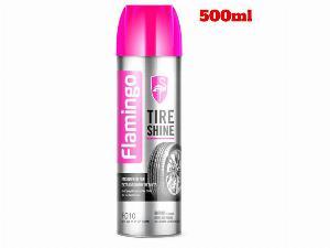 Làm Bóng Đen Lốp Xe ,Làm Sạch Vết Bẩn Lốp Flamingo Tire Shine F010 500ml