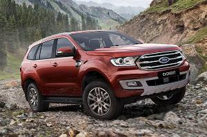 Ford Everest sản xuất năm 2020 Số tự động Dầu diesel