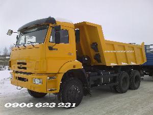 Ben Kamaz 3 cầu chủ động | Kamaz ben 65111 (6x6)  ben Kamaz 3 cầu ga cơ