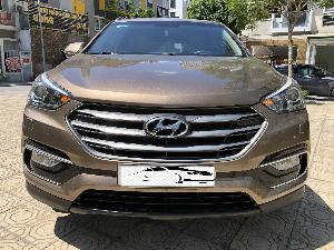 Hyundai Santa Fe sản xuất năm 2018 Số tự động Dầu diesel