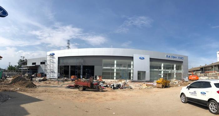Gia Định Ford được xây dựng mới hoàn toàn - đáp ứng nhu cầu mua xe Ford tại khu tây Sài Gòn và các tỉnh thành lân cận