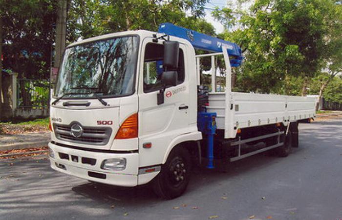 Xe tải 7 tấn HINO FC9JLSW gắn cẩu 3 tấn 4 đốt TADANO model TM_ZE304MH thùng dài 6m | Hỗ mua trả góp 90% 2