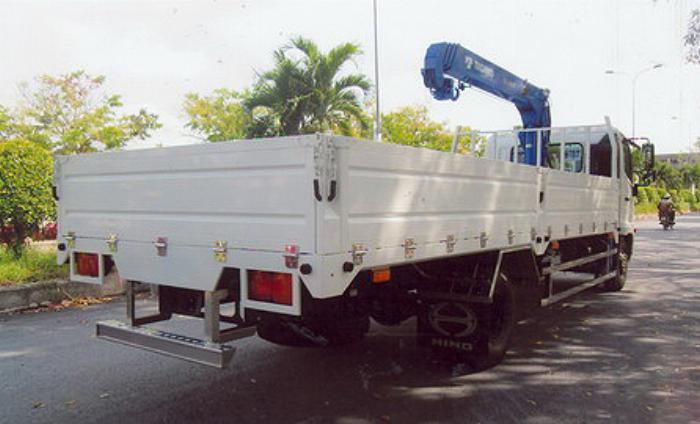 Xe tải 7 tấn HINO FC9JLSW gắn cẩu 3 tấn 4 đốt TADANO model TM_ZE304MH thùng dài 6m | Hỗ mua trả góp 90% 3