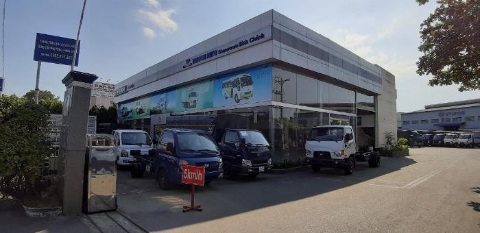 Các dòng Hyundai tải theo tải trọng