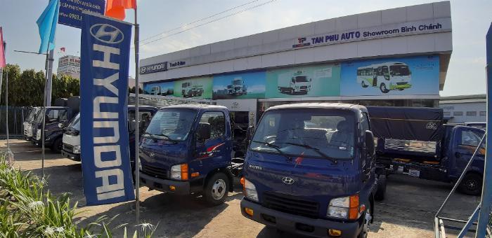 Nên mua xe tải Hyundai ở đâu chính hãng giá rẻ