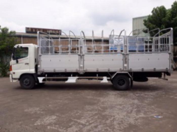 Một số điều cần biết về xe tải Hino 6,4 tấn trên thị trường