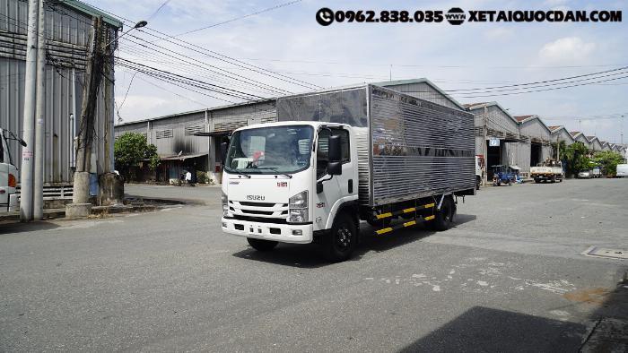 Xe tải Isuzu NQR75ME4, Tải trọng 5 Tấn 5, Thùng dài 5m6 | Isuzu NQR550 1
