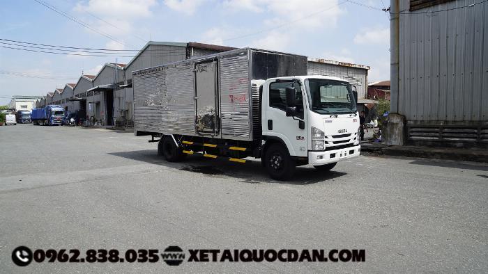 Xe tải Isuzu NQR75ME4, Tải trọng 5 Tấn 5, Thùng dài 5m6 | Isuzu NQR550 2