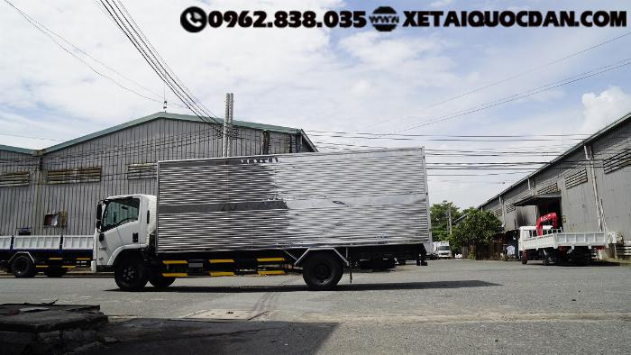 Xe tải Isuzu NQR75ME4, Tải trọng 5 Tấn 5, Thùng dài 5m6 | Isuzu NQR550 3