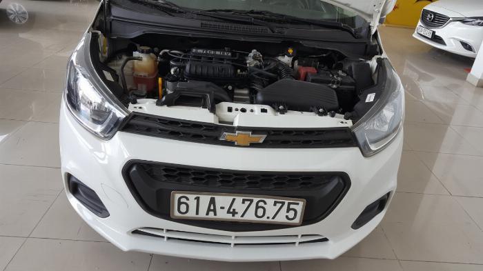 Bán Chevrolet Spark LS 1.2MT màu trắng số sàn sản xuất 2018 biển Bình Dương mẫu mới đi 6000km 3