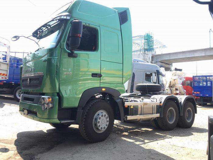 Đầu kéo Howo nhập khẩu mới 2019