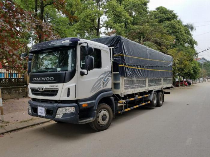 Bán xe Daewoo 3 chân thùng dài 9.2m giá tốt