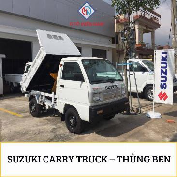 XE TẢI BEN SUZUKI CARRY TRUCK 500kg 0