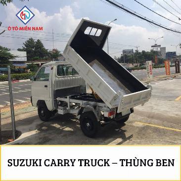 XE TẢI BEN SUZUKI CARRY TRUCK 500kg 1