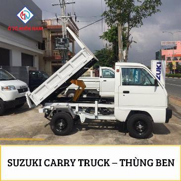 XE TẢI BEN SUZUKI CARRY TRUCK 500kg 2