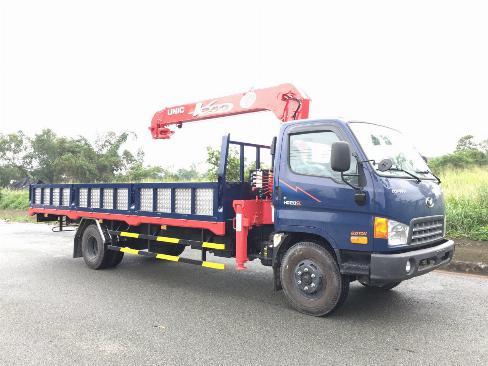 Xe tải HYUNDAI 120SL gắn cẩu UNIC URV375