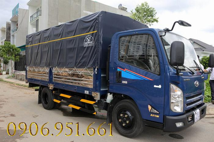 Xe tải iz65 gold 3.5 tấn đô thành động cơ isuzu euro 4 1