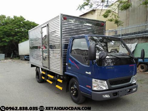 Xe tải IZ49- 2,5 Tấn Động cơ Isuzu – Giá Tốt Giao ngay