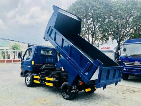 Xe ben Hyundai hd65 2,5 tấn vào thành phố 0