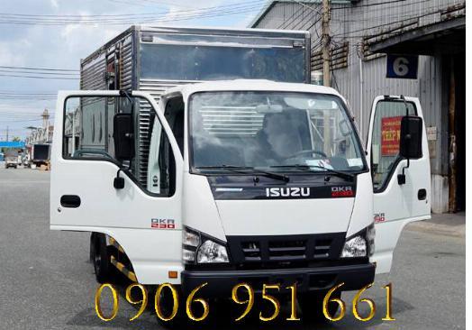 Giá  xe tải  Isuzu 1T9 , xe tải isuzu QKR 230 trả góp