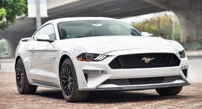 Ford Mustang sản xuất năm 2019 Số tự động Động cơ Xăng
