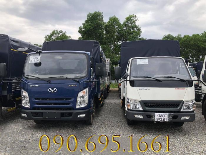 Giá xe tải 3.5 tấn IZ65 Đô Thành động cơ isuzu euro 4 0