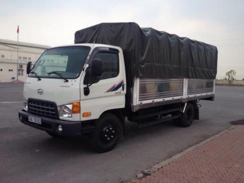 Xe Tải Hyundai 2T4 thùng kín , xe mới 2019