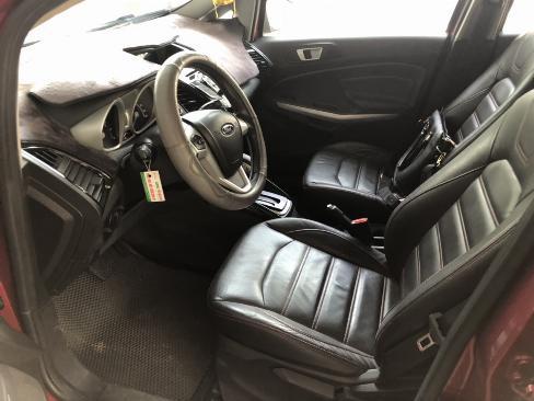 Bán Ford Ecosport Titanium 1.5AT màu đỏ số tự động sản xuất 2017 một chủ 4