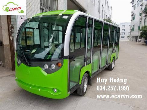 Bán xe điện chở khách du lịch 11 chỗ lvtong