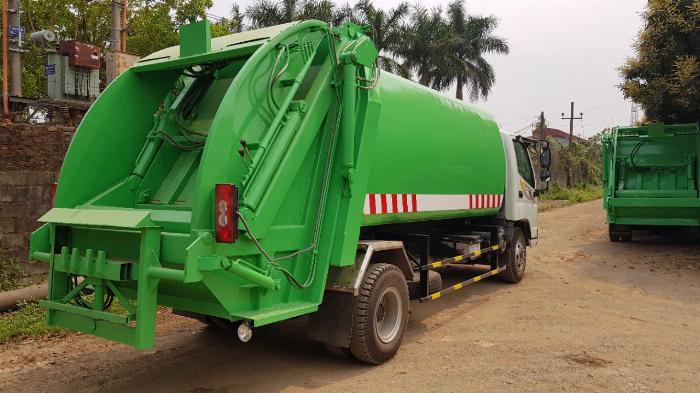 Bán xe Cuốn ép rác Thaco Ollin 700C 11 khối