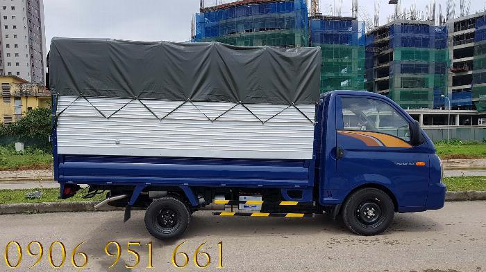 Xe tải Hyundai 1T5 thùng kín, Hyundai H150 xe có sẵn, giao ngay 0