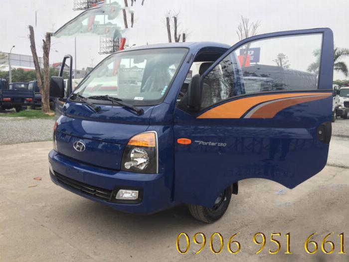 Xe tải  Huyndai 1T5 thùng kín, H150 1T giá rẻ nhất Miền Nam 0