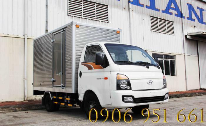 Bán xe trả góp HyunDai Porter H150, lãi suất thấp, thủ tục đơn giản 0