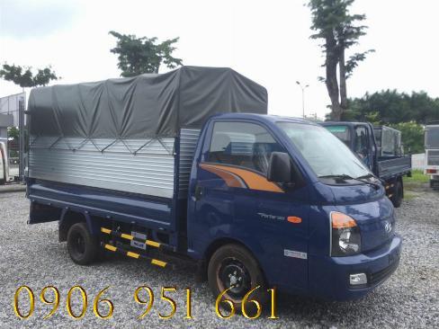 Bán xe trả góp HyunDai Porter H150, lãi suất thấp, thủ tục đơn giản 1