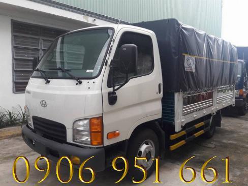 Xe Tải Hyundai 2T4  thùng bạt, Hyundai N250– Xe mới bán trả góp 90%