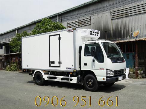 Giá xe tải Isuzu 1T9 thùng đông lạnh, QKR270 đông lạnh 1T9 trả góp