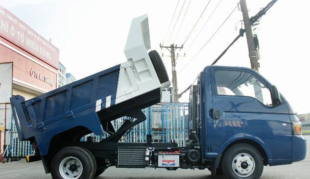 Cần bán xe tải ben tự đổ Jac 1.4 tấn sx 2018
